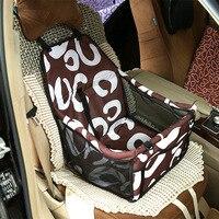 Hot Sale Cartoon Cat Car Travel Bag Outdoor Pet Package Dog Warm Mat Thick Waterproof Dog