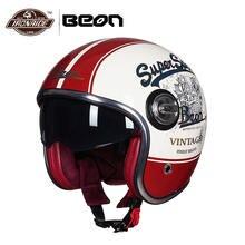 Vintage Moto Helmet