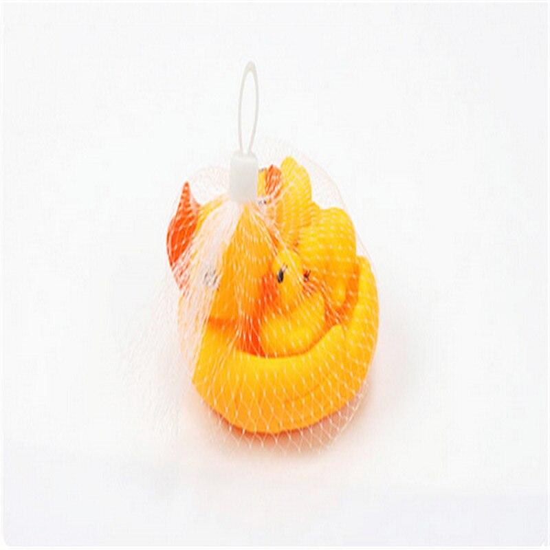 HEY DIVERTIDO 12*9*7 cm juguete del baño del bebé patos flotando un pato de la m