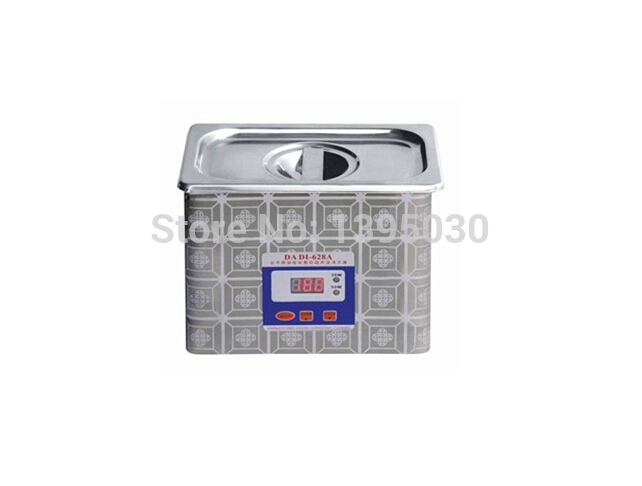 1PC 628A Ultrasonic cleaner machine 220V Stainless steel Ultrasound cleaner washer Ultrasonic Cleaning Machine