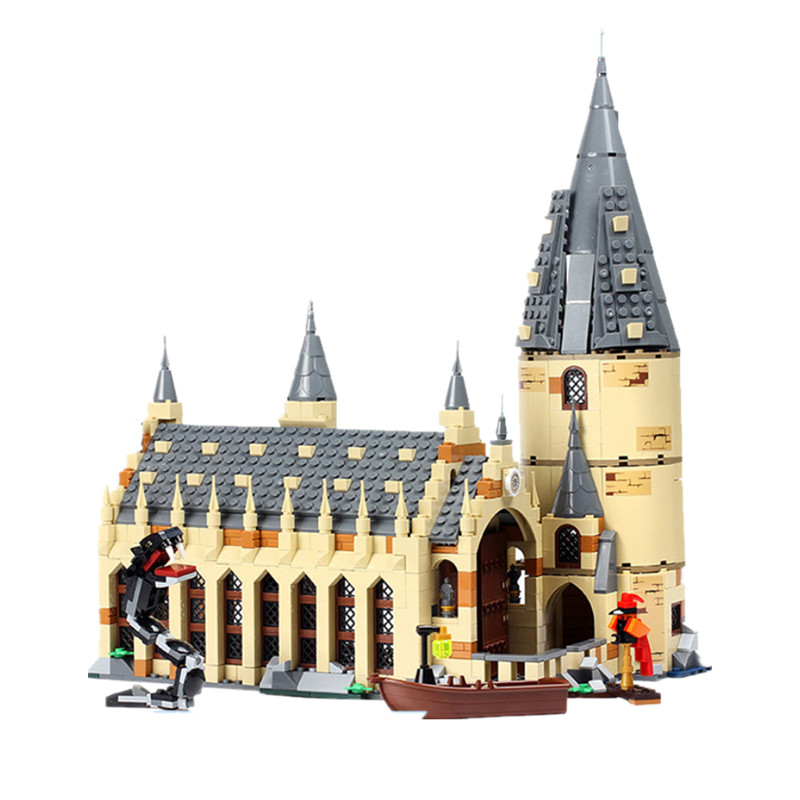 Lepin 16052 lepin Harry Movie Series The Hogwarts Great Wall Potter Set Compatible legoing Harry Movie Series Potter 75954 block william irwin the ultimate harry potter and philosophy hogwarts for muggles
