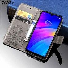 Xiaomi Redmi 7 Case Luxury PU leather Cover Soft Silicone Flip Wallet Phone Case Back Cover Xiaomi Redmi 7 Card Holder Fundas все цены