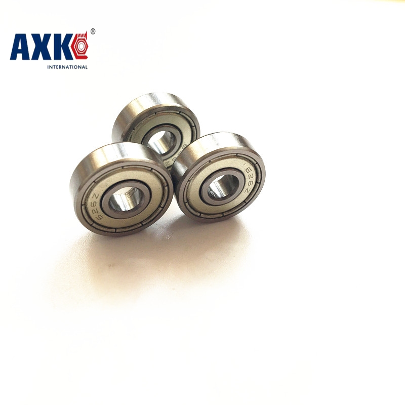 AXK 10 PCS Multiple mm bore Deep Groove 603ZZ/608ZZ/623ZZ/624ZZ/625ZZ/685ZZ/688ZZ Ball bearing Multiple Options for 3D Printer gcr15 6326 zz or 6326 2rs 130x280x58mm high precision deep groove ball bearings abec 1 p0