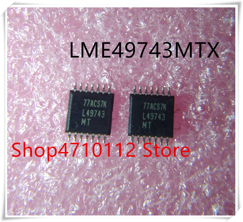 NEW 10PCS LOT LME49743MTX LME49743 L49743 L49743MT LME49743MT TSSOP 14 IC