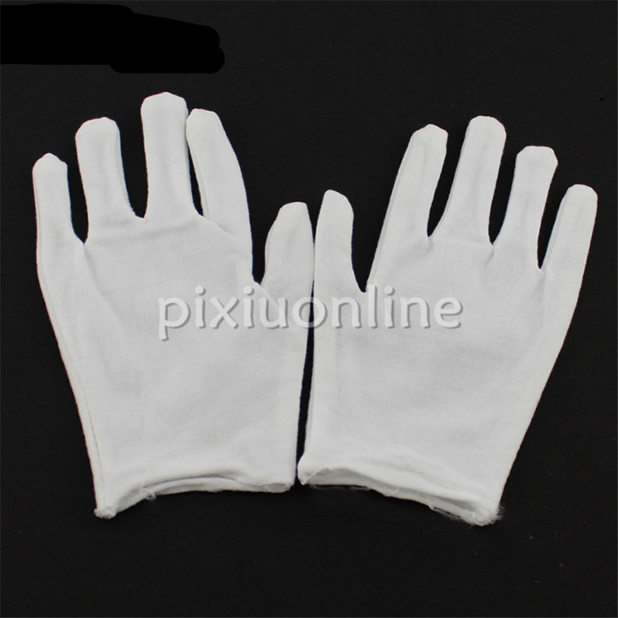 1pair Sale J713 DIY Model Making Thin And Thick  Cotton Glove S/M/L/XL Protect Antiskid Glove Free Russia Shipping
