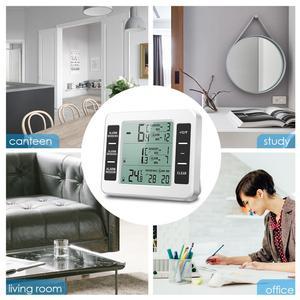 Image 2 - ORIA LCD אלחוטי דיגיטלי מדחום מקרר שלט רחוק מטבח טמפרטורת מדחום מקורה חיצוני עם מעורר