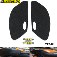 MTKRACING Motorcycle For Yamaha YZF R1 YZF R1 2009 2015 Tank Pad Protector 3M Sticker Decal Gas Knee Grip Traction Pad Side