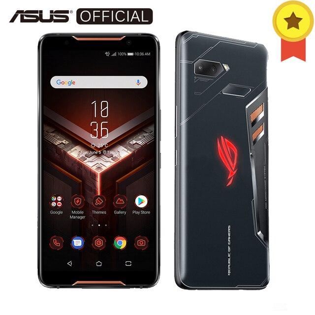 "ASUS ROG телефон ZS600KL 8 ГБ Оперативная память 128 ГБ Встроенная память игровой телефон Snapdragon 845 2,96 ГГц 6,0 ""18:9 AMOLED Экран Android8.1 4000 мАч оты"
