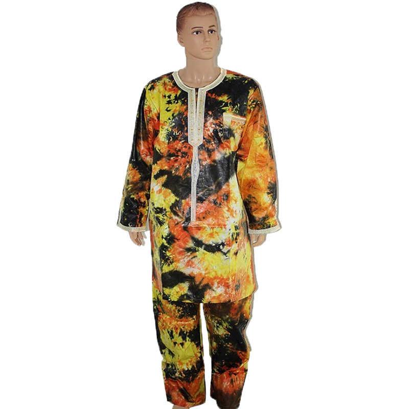 Md Ensemble Hauts Et Pantalon Africain Pour Homme Costumes Imprimes Africains Costume A La Mode T Shirt Dashiki Collection Vetements Pour Hommes Aliexpress