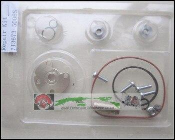 Jogo de reparação turbo navio livre reconstruir kits 713673 713673-0006 713673-0005 713673-0004 713673-0003 038253019n 038253019nv 03g253014e