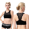 2 Colors Women Lace Bra Fashion Push Up Bra Sexy Crop Top Vest  Knitting Stretch Women's Tanks Tops