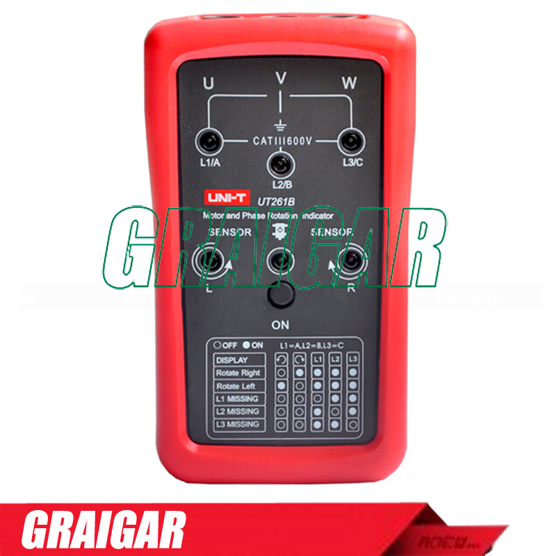ФОТО Electronic Phase Sequence and Motor Rotation Indicators UNI-T UT261B Tester Meter