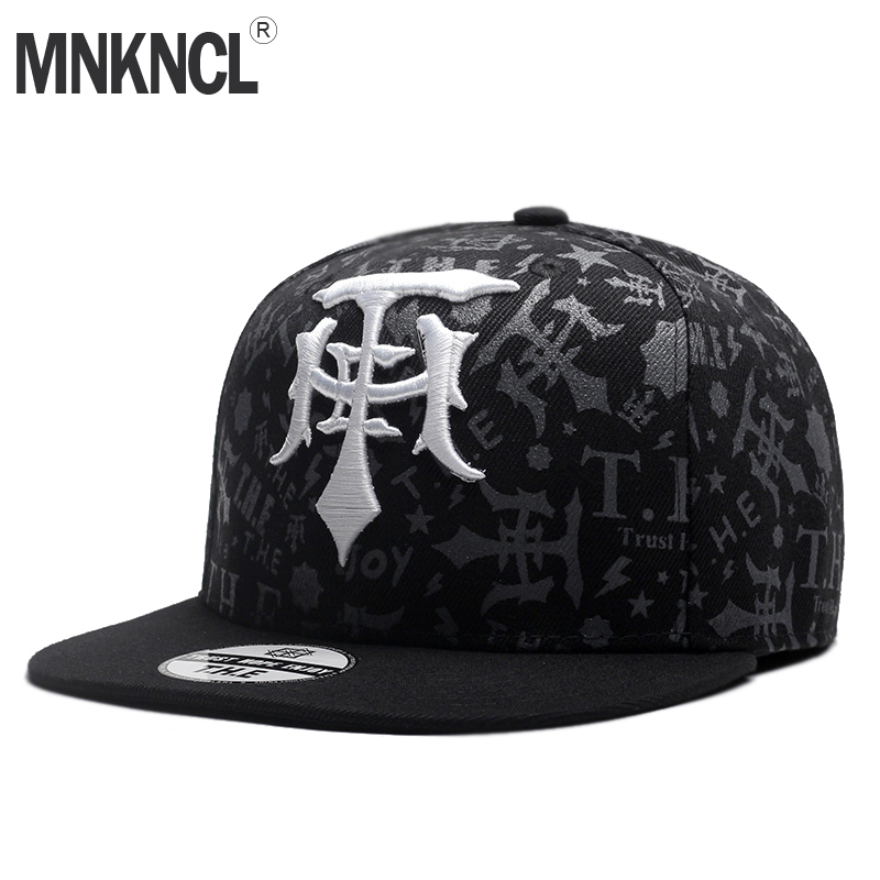 MNKNCL High Quality Snapback   Cap   Brand Flat Brim   Baseball     Cap   Fashion Hip Hop   Cap   and Hat For Men and Woman