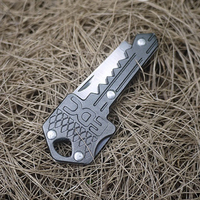 H0026 Free Shipping Mini SOG Key Unique Convenient Easy Carrying EDCGEAR Color Random Outdoor Products