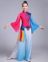 2017 New Spring Dance Classical Dance Costume Chinese Traditional Costume Yangko Clothes