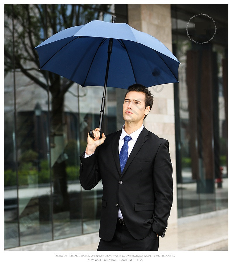 2 pcs/lot couleur option détachable incassable auto-défense multi-usage alliage anti-dérapage extérieur escalade bleu béquille parapluies