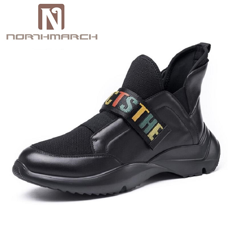 NORTHMARCH New Men Casual Shoes Winter Breathable Man Flats Shoes Lightweight Men Black Chaussure Homme Zapatos De Hombre 2016 new autumn winter man casual shoes sport male leisure chaussure laced up basket shoes for adults black