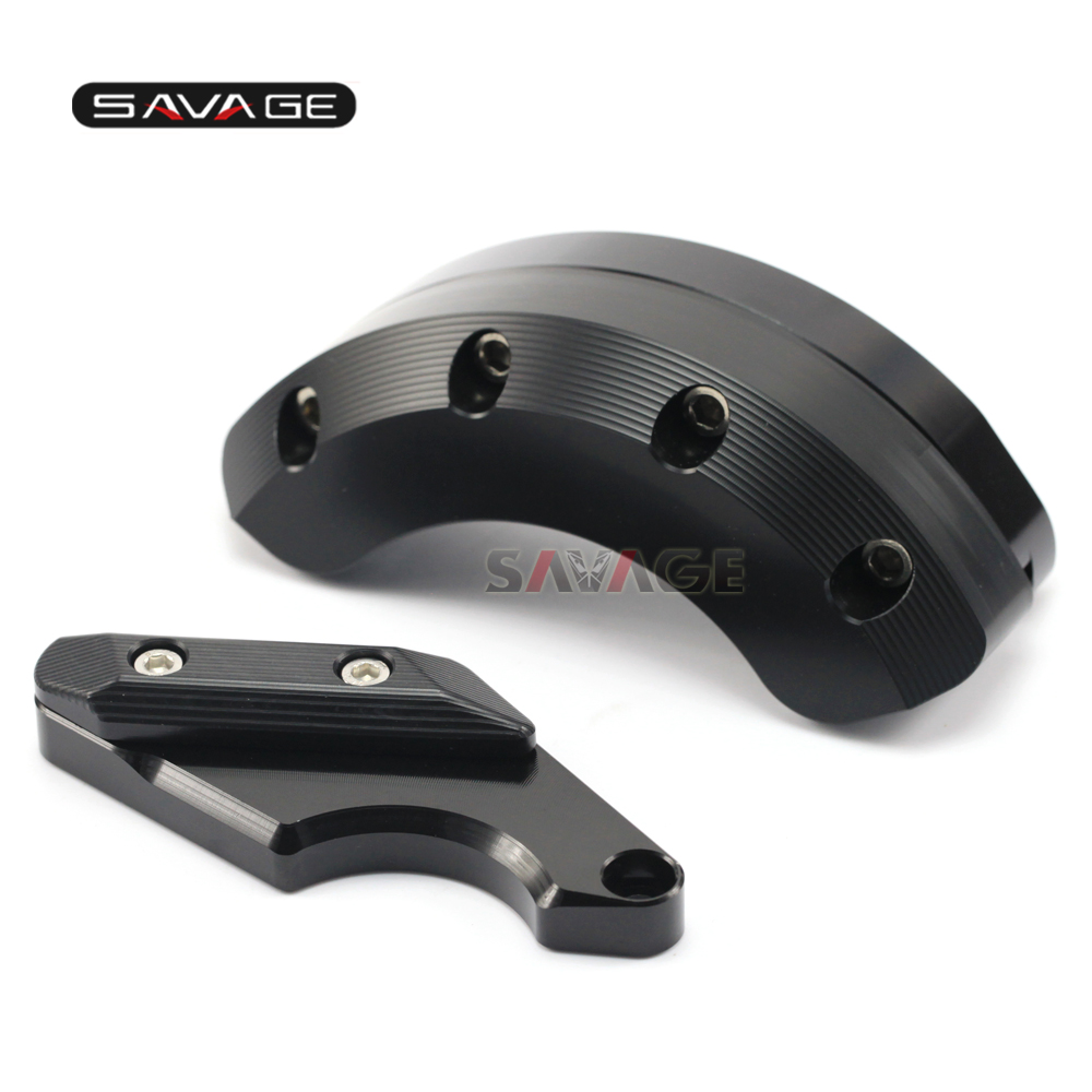 FOR YAMAHA XJ 6/FZ-6R/FZ-6N/FZ-6S Motorcycle Accessories Left & Right Side Engine Case Slider Aluminum And POM 6