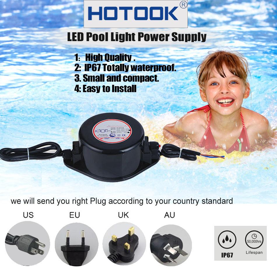 HOTOOK AC 12V napajanje IP67 vodootporni podvodni LED drajver 60W - Različiti rasvjetni pribor - Foto 2