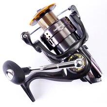 LJ3000 3000 Seires Saltwater Spinning Fishing Reel 5.2:1 12+1BB CNC Spool Lightweight Sea Carp Fishing Gear Carrete De Pesca C0
