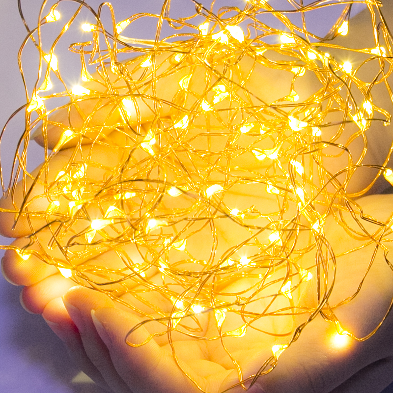 High Quality Copper Wire 3M LED String Light Waterproof Lighting Strings Fairy Lights For Christmas Wedding Party Decoration