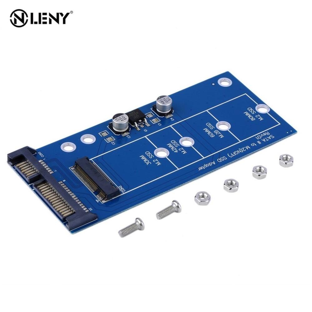 M2 NGFF ssd SATA3 SSDs turn sata adapter expansion card adapter SATA to NGFF Wholesale Drop Shipping xt xinte ngff m2 ssd to 2 5 sata adapter m 2 2 5 inch ngff ssd to sata3 convert card