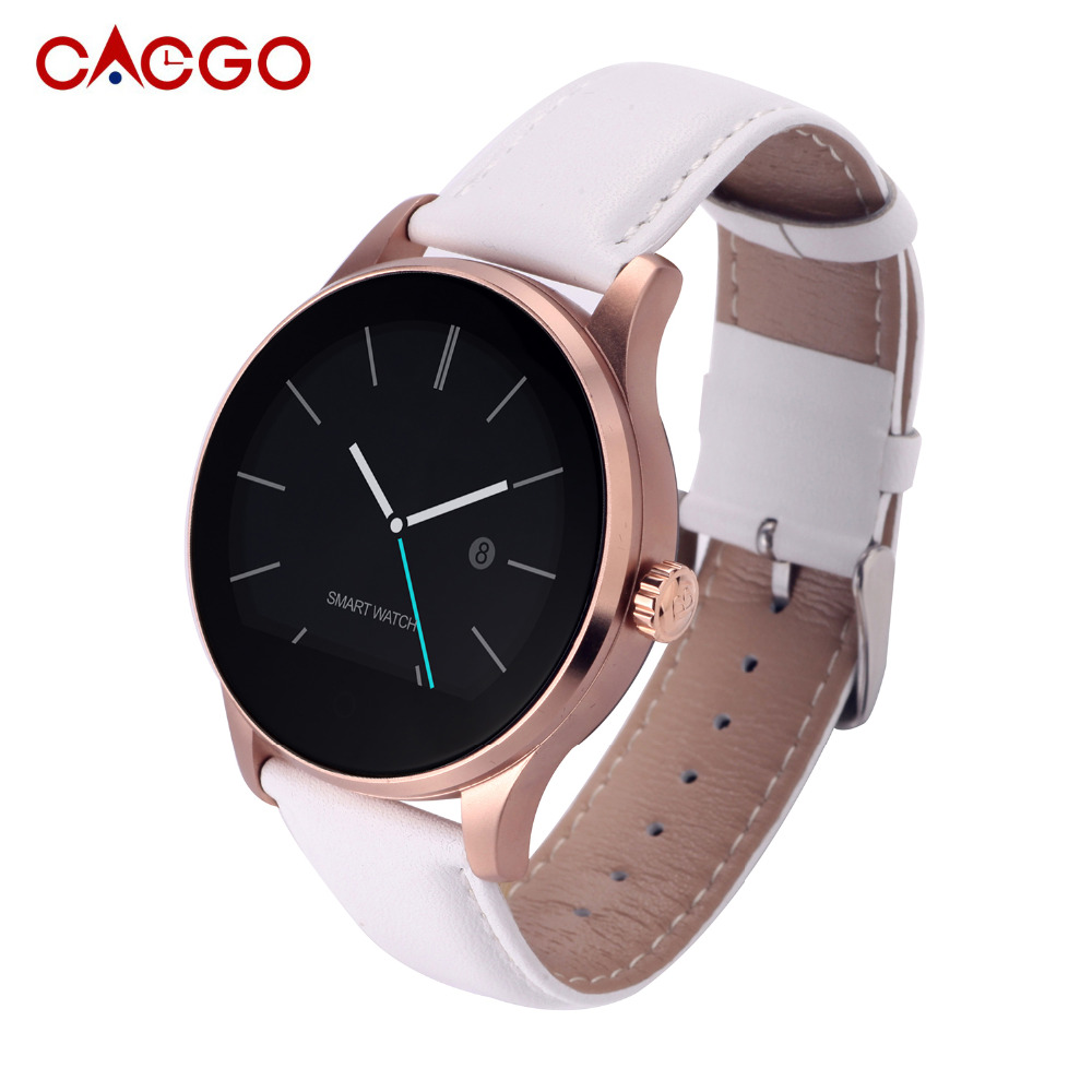 Fashion Men Women Smartwatch K88H Smrt Watch Round ...