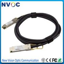 5 шт./лот, 40G QSFP+ DAC 3M 30AWG, 40G QSFP 3M Кабель QSFP-QSFP40G-CU3M 30AWG 3M DAC Медь прямого подключения кабеля