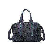 Women BaoBao Bag Geometry Folding Bags Luminous Channels Handbags Casual Tote Bao Bao Women Shoulder Bags Crossbody Bag bolsa