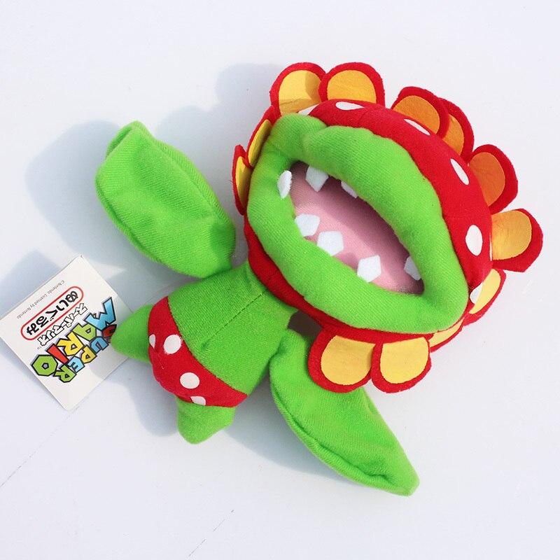 """Супер Марио Пиранья завод Пиранья плюшевые куклы игрушки 6,"""" 17 см"""