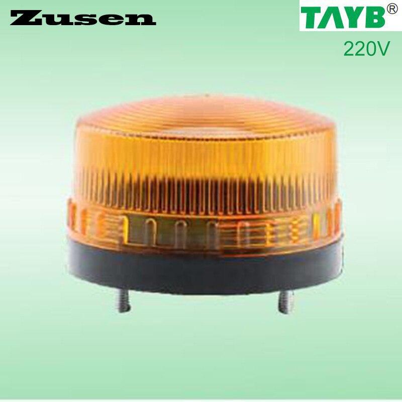 Zusen 3 Couleur TB35 220 V jaune led D'alarme de Sécurité Strobe Signal Voyant LED Lampe petit