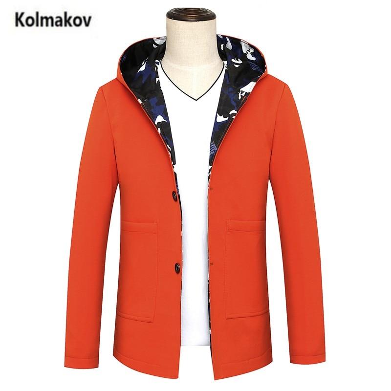 HIGH QUALITY MEN'S CLOTH Store KOLMAKOV 2017 new autumn high quality casual men's Jean jacket coat,Men fashion hooded jackets,big size L-8XL,3 color.