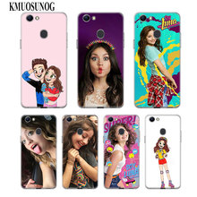 Transparent Soft Silicone Phone Case soy luna frosted softness for OPPO F5 F7 F9 A5 A7 R9S R15 R17 Cover soy luna live barcelona