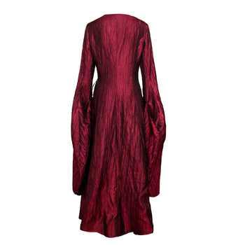 Game of Thrones Season 8 The Final Season Melisandre Cosplay Costume Halloween Costume Party Women Red Long Dress