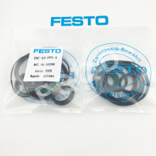 FESTO    DNC-63-PPV-A 163398   pneumatic components  pneumatic  tools repair kit seal ring advu 50 20 a p a 156638 germany festo cylinders