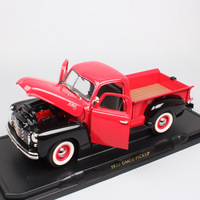 1/18 Big Scale Road Signature old vintage 1950 GMC Pick up trucks van auto die cast vehicles models car toys for adult collector