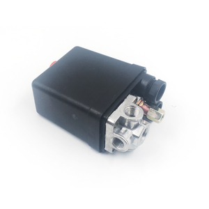 240 В регулятор переменного тока Сверхмощный воздушный компрессор насос регулятор давления переключатель 4 порта воздушный насос регулирующий клапан 7,25-125 PSI с манометром