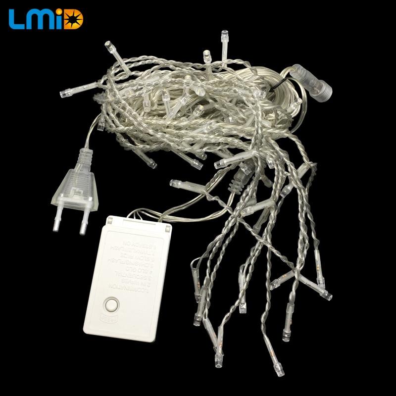 LMID EU US Рождестволық шырақтар 2M * 0.6M 60LEDs - Мерекелік жарықтандыру - фото 2