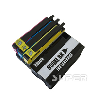950XL 951XL Ink Cartridge Fits for HP OfficeJet Pro 8100 8600 8610 8615 with Chip & ink