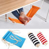 Mini Portable Study Indoor Office Foot Rest Stand Desk Feet Hammock Easy To Disassemble For Home