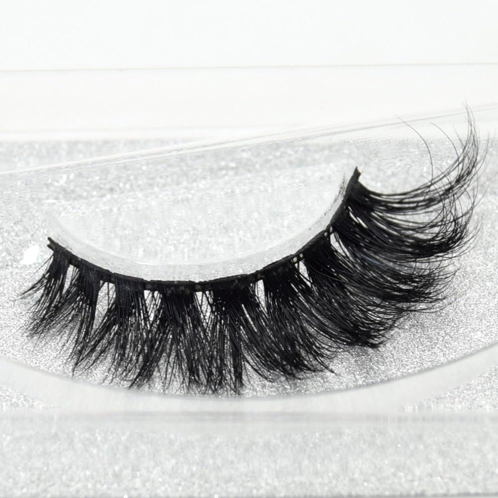 Visofree Eyelashes 3D Mink Lashes High Volume Handmade Mink False Eyelashes Thick Full Strip Lashes Cruelty Free cilios posticos цена