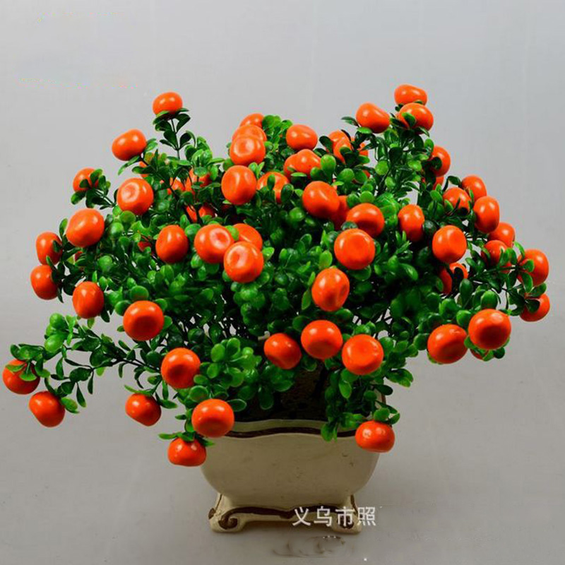 2 bundle lot artificial fruit flower artificial plastic for Artificial fruit for decoration