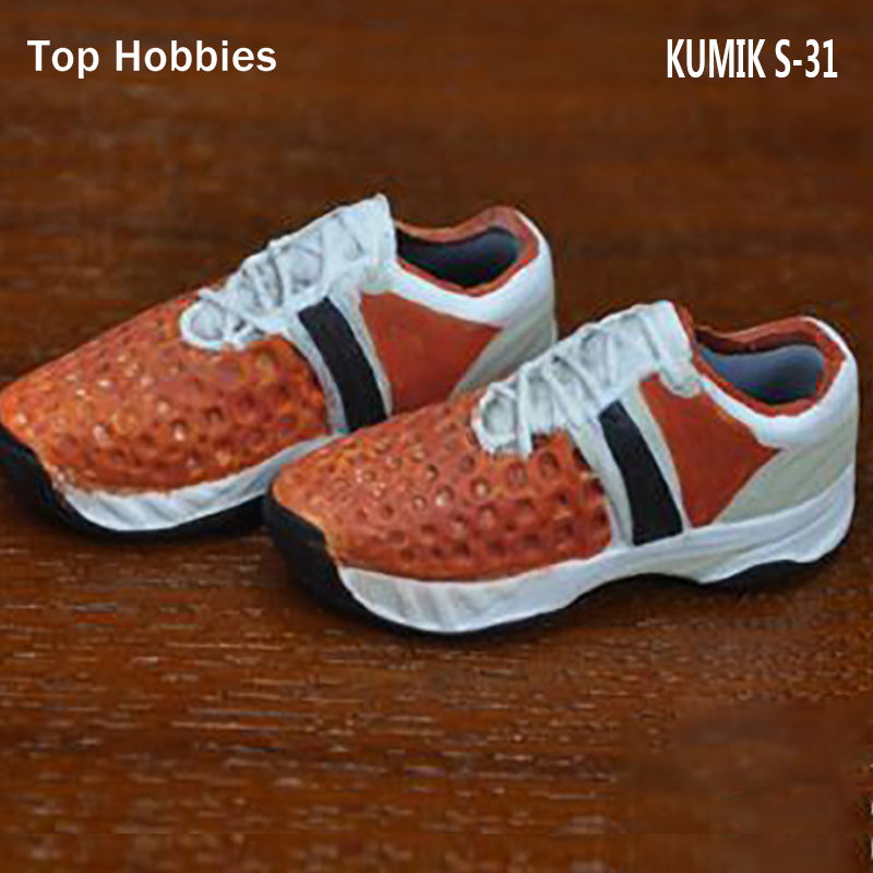Ht,ttl Hot Figure Accessory 1/6 Kumik S31 Sport Shoes Casual Shoes Running Shoes For 12 Inch Cy Girl Zc Trend Mark 1pair Hot Toys Gift Delicacies Loved By All