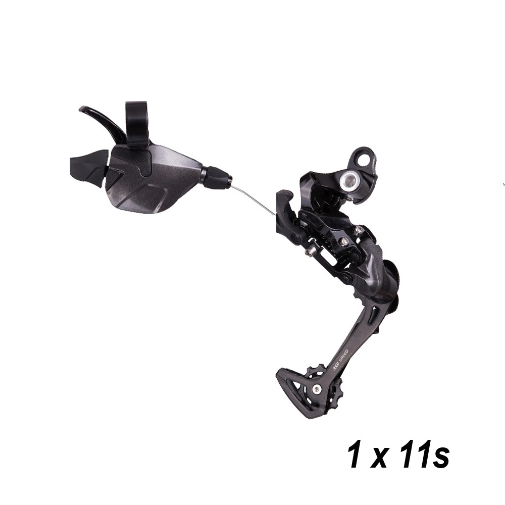 MTB Bicycle 1X11S 11 Speed Rear Shifter Derailleur Groupset for XT k7 mountain bike crankset parts 11s system