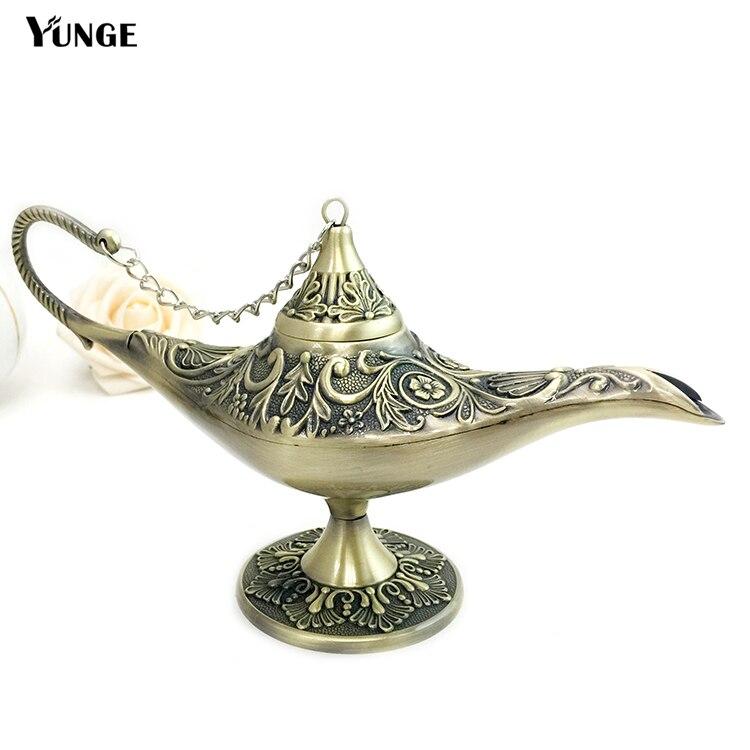 Factory Price Decor Antique Big Size Aladin Magic Lamp