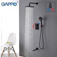 GAPPO shower faucet basin sink waterfall faucets shower mixer tap bath faucet mixer Rainfall tap bath Faucets ducha de chuveiro
