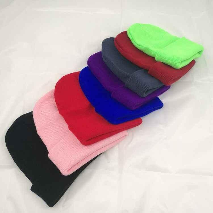 Jiangxihuitian Warme Gebreide Hoed Vrouwen Muts Cap Voor Vrouwen Skullies Mutsen Warm Winter Cap Mannen Merk Beanie Hoed Groothandel