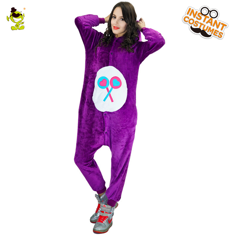 Adult Woman Bear Pajamas Costumes Women Cosplay Fancy Dress for Carnival Party Role Play Dressup Lady Sleepwear Women Costume