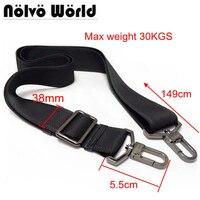 38mm Max 30KGS Strong Hook Nylon Belt Accessory Men Bags Long Shoulder Strap Man Briefcase Bag