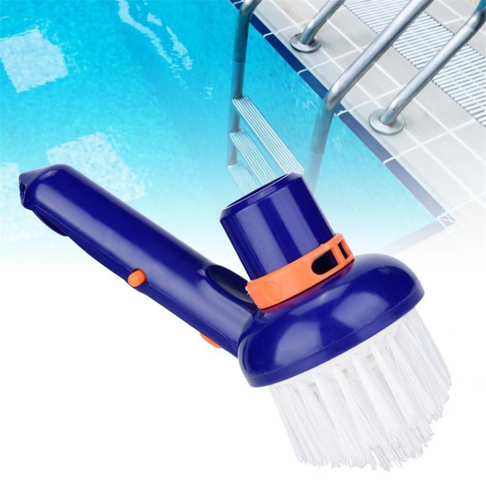 LóGico Piscina Al Aire Libre Cepillo De Limpieza Cepillo Ligero No Se Desvanece Pc Cleaner Para Piscinas Spas Tinas De Baño